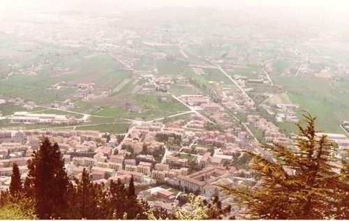 Gubbio - panoramica